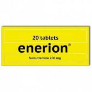Sulbutiamin Enerion 200 mg , 20 Tabletten.